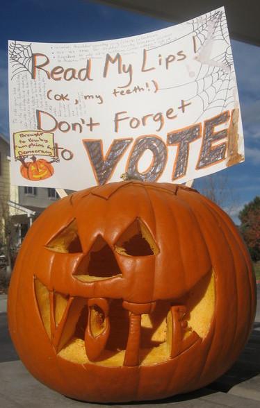 Pumpkin Vote 2008 Cropped